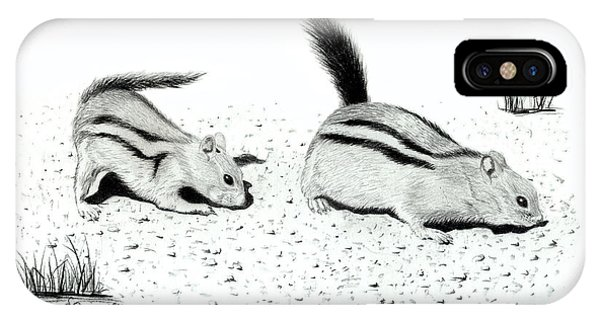 Ground Squirrels IPhone Case