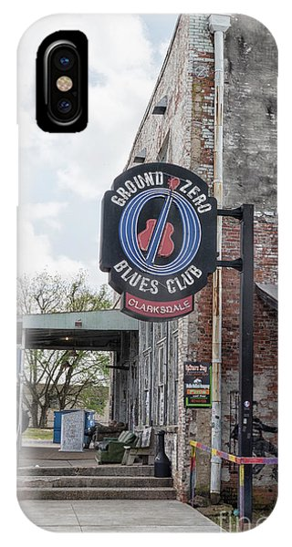 Culture Club iPhone Case - Ground Zero Blues Club In Clarksdale, Birthplace Of The Blues by Patricia Hofmeester