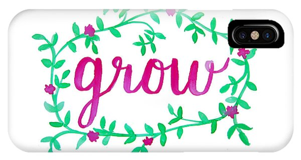 Gardens iPhone Case - Grow by Michelle Eshleman