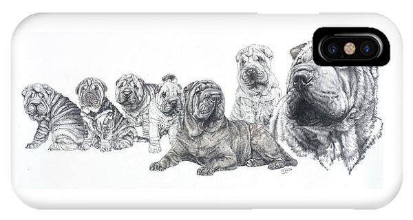 Mister Wrinkles And Family IPhone Case