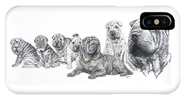 Growing Up Chinese Shar-pei IPhone Case
