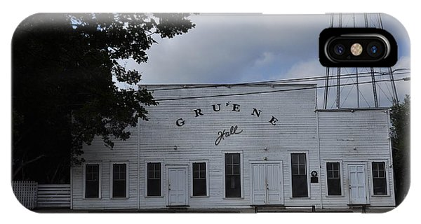 Gruene  IPhone Case