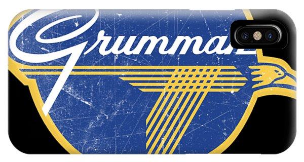 Grumman Est 1929 Distressed IPhone Case