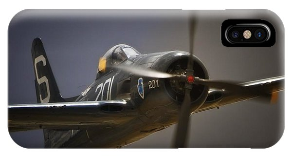 Grumman F8f Bearcat No. 201 IPhone Case