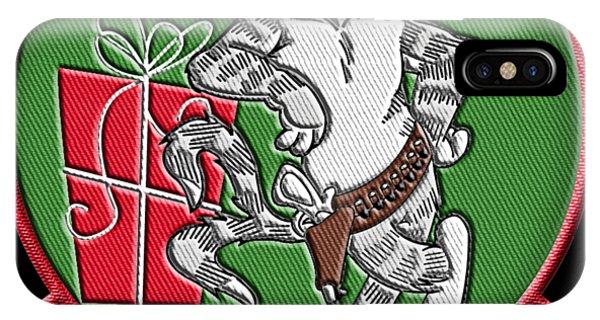 Grumman Merry Christmas IPhone Case
