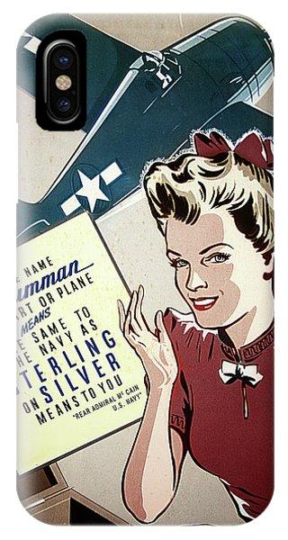Grumman Sterling Poster IPhone Case