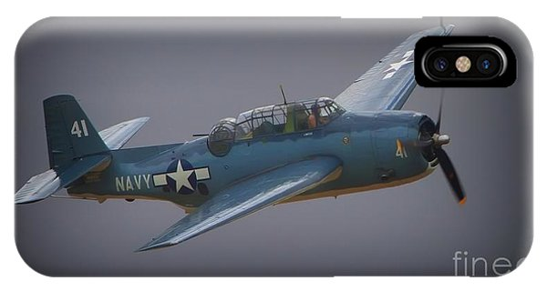 Grumman Tbf Avenger No.41 Bluegray IPhone Case