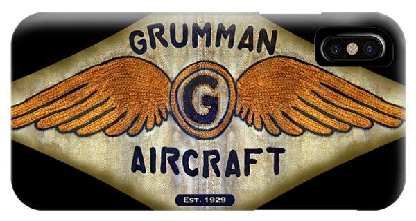 Grumman Wings Diamond IPhone Case