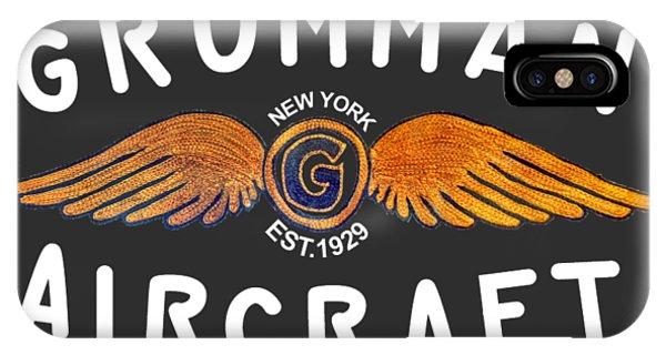 Grumman Wings Gold IPhone Case