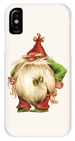 Grumpy Gnome IPhone Case