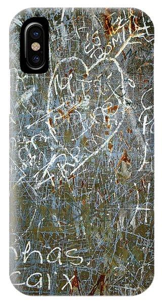Airbrush iPhone Case - Grunge Background IIi by Carlos Caetano