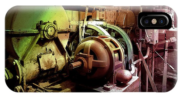 Grunge Hydroelectric Plant IPhone Case