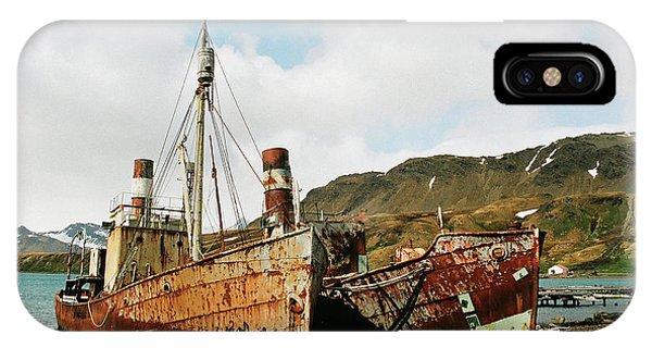 Grytviken Ghosts IPhone Case