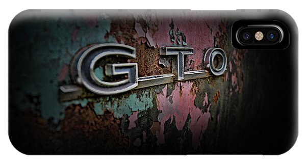 IPhone Case featuring the photograph Gto Emblem by Glenda Wright