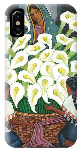 Guadalupe Visits Diego Rivera IPhone Case