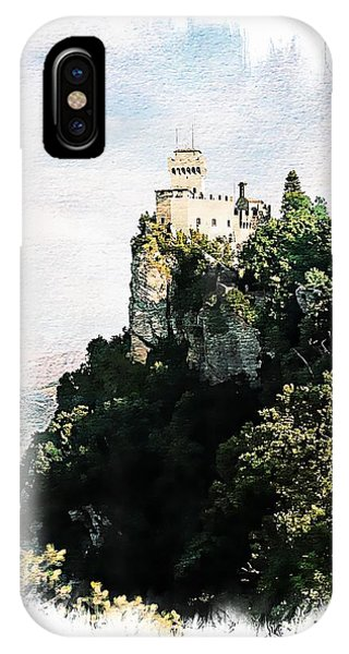 Guaita Castle Fortress IPhone Case