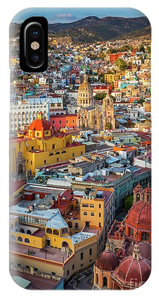 Guanajuato iPhone Case - Guanajuato From Above by Inge Johnsson