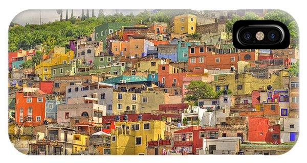 Guanajuato Hillside IPhone Case