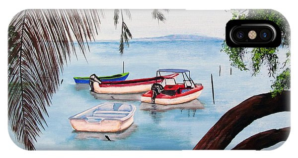 Guanica Bay IPhone Case