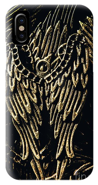 Texture iPhone Case - Guardian Angel Charms by Jorgo Photography - Wall Art Gallery