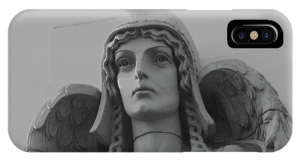 Guardian Angel On Watch IPhone Case