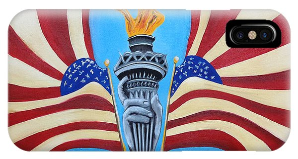 Guardian's Of Liberty IPhone Case