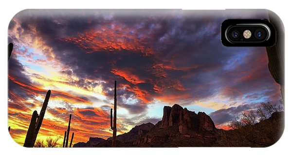 Guardians Of The Mountain IPhone Case