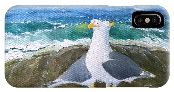 Guarding The Land And Sea IPhone Case