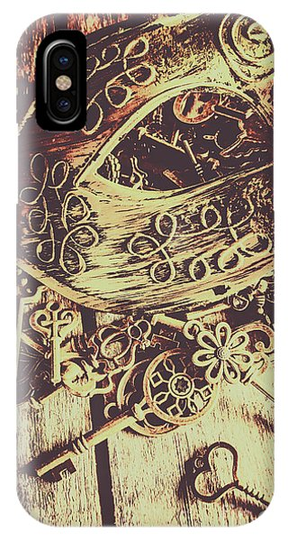 Myth iPhone Case - Guarding The Secrets Of Society by Jorgo Photography - Wall Art Gallery