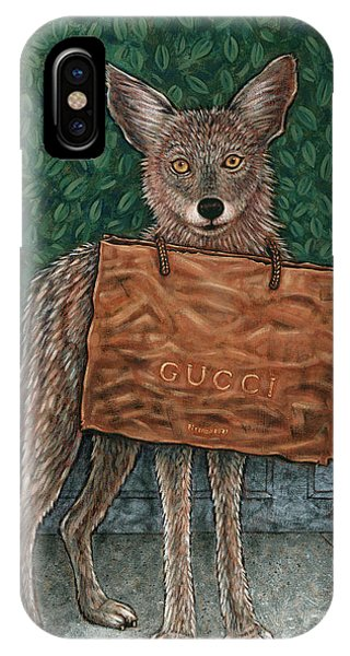 Gucci Coyote IPhone Case
