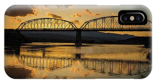 Guffey Bridge At Sunset Idaho Journey Landscape Photography By Kaylyn Franks IPhone Case
