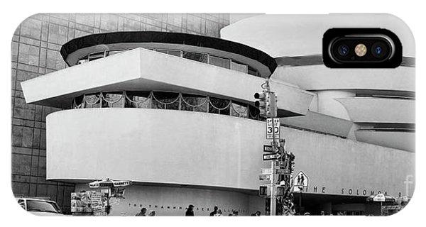 Guggenheim Museum Nyc Bw IPhone Case