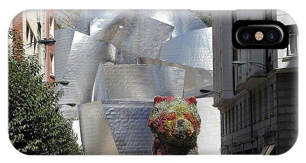Gehry iPhone Case - Guggenhiem 1 Bilboa Spain by Paul Basile