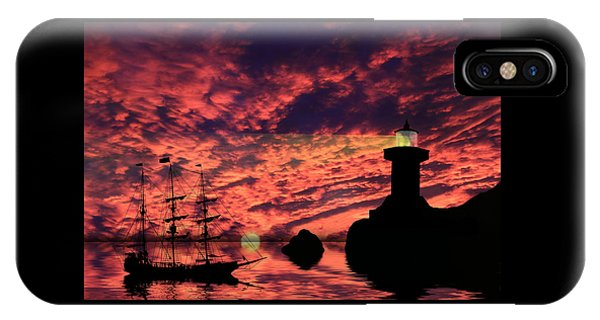 Guiding The Way IPhone Case