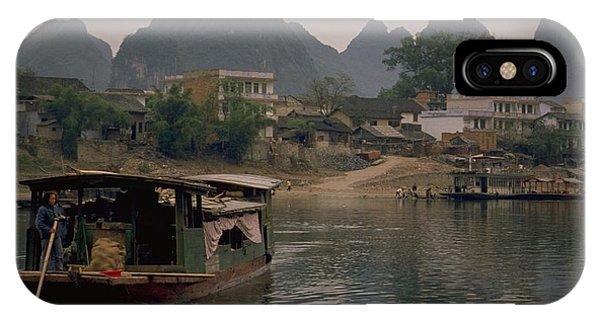 Guilin Limestone Peaks IPhone Case