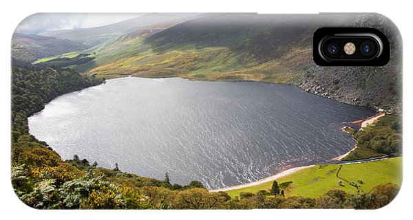 Guinness Lake In Wicklow Mountains  Ireland IPhone Case