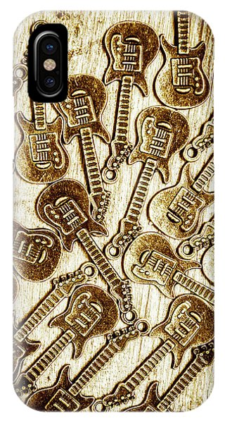 Gallery Wall iPhone Case - Guitar Echo Chamber by Jorgo Photography - Wall Art Gallery