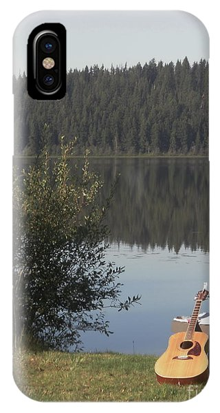 Guitar Lake IPhone Case