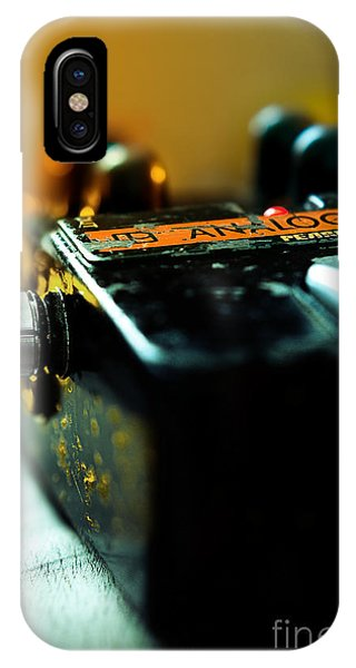 Guitar Pedal IPhone Case