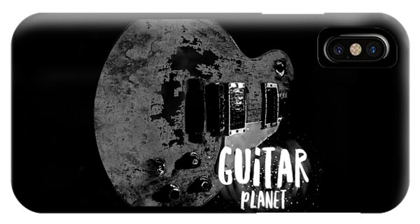 IPhone Case featuring the photograph Guitar Planet  by Guitar Wacky