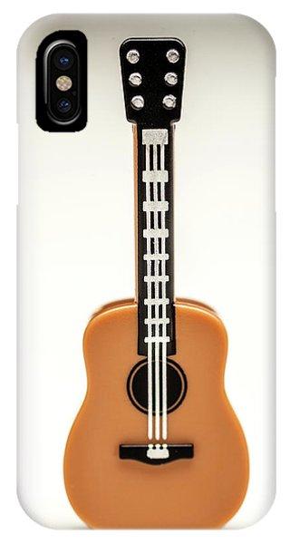 Strum iPhone Case - Guitar by Samuel Whitton