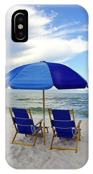 Gulf Coast Beach Oasis IPhone Case