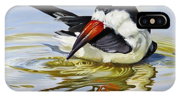 Gulf Coast Black Skimmer IPhone Case