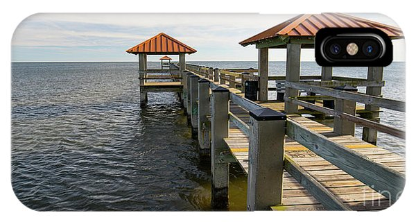 Gulf Coast Pier IPhone Case