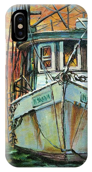 Gulf Coast Shrimper IPhone Case