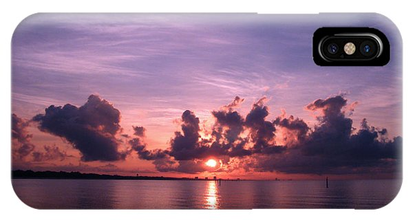 Gulf Coast Sunrise IPhone Case