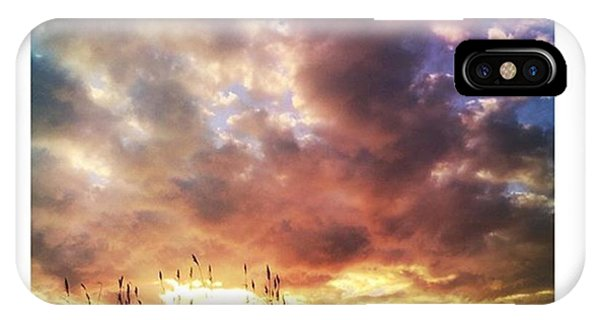 Cloud iPhone Case - Gulf Coast Sunset #clouds #sunset by Joan McCool