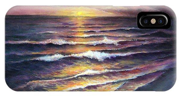 Gulf Coast Sunset IPhone Case