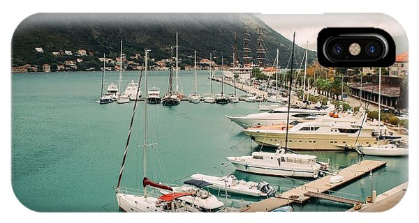 Gulf Of Kotor IPhone Case