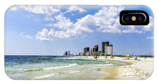 Gulf Shores Al Beach Seascape 1746a IPhone Case